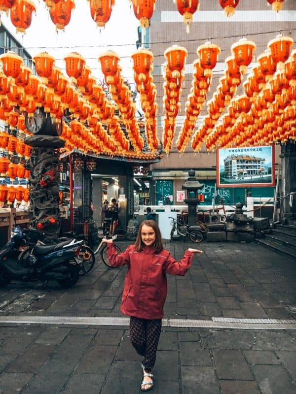 Visiting temples is among the best things to do in Taiwan