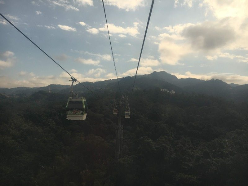 Maokong Gondola is definitely one of the best places to visit in Taipei