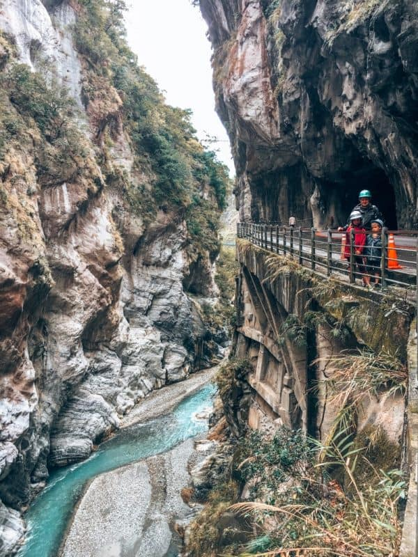 Taroko National Park is one of Taiwan best places