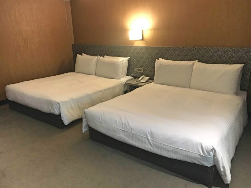 M Hotel in Taipei is a good accommodation choice for a Taiwan budget trip